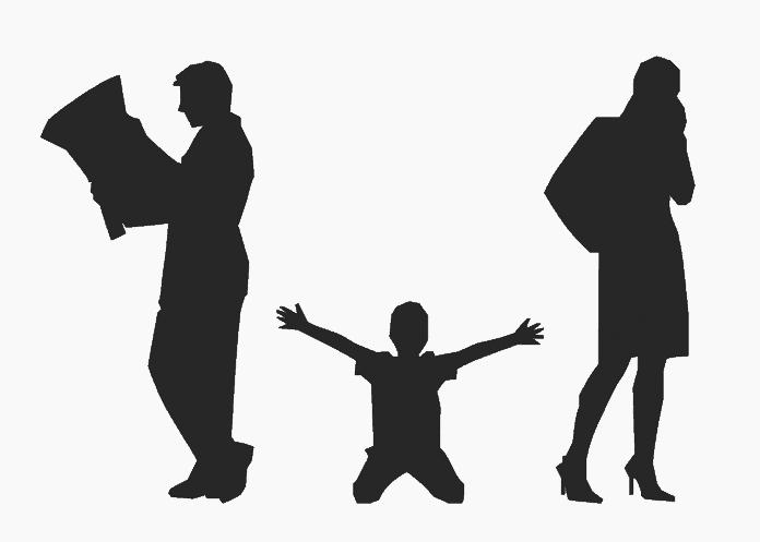 Scheidung Eltern Kinder Menschen Familie Trauer