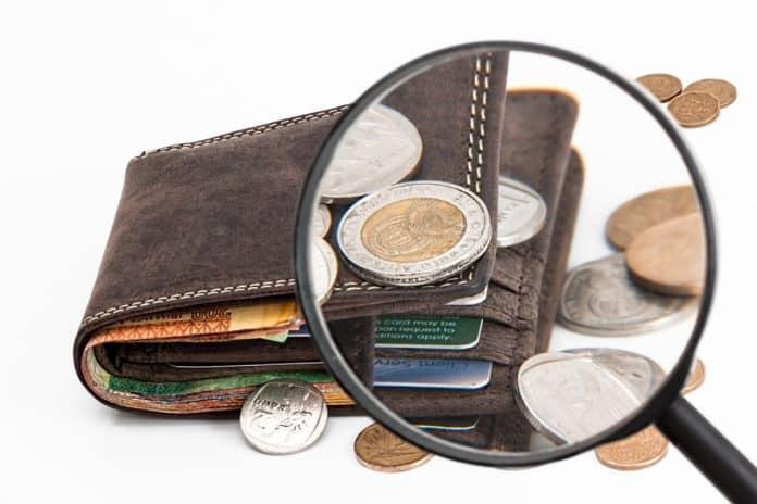 brieftasche kreditkarte bargeld investitionen geld