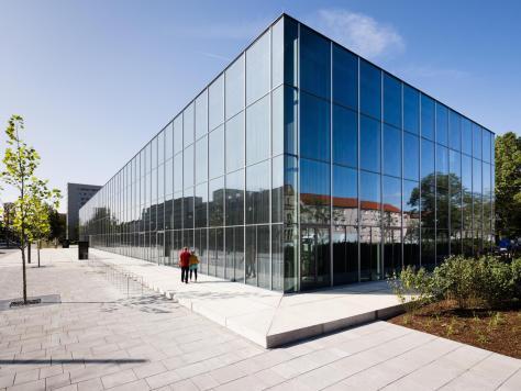 Das neu eröffnete Bauhaus-Museum