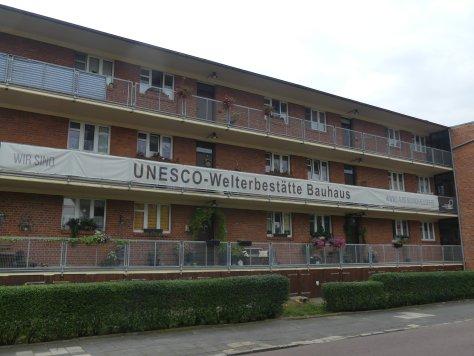 Die Laubenganghäuser in Dessau