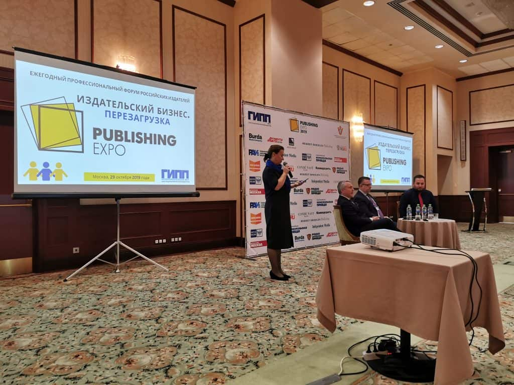 Publishing Expo Moskau