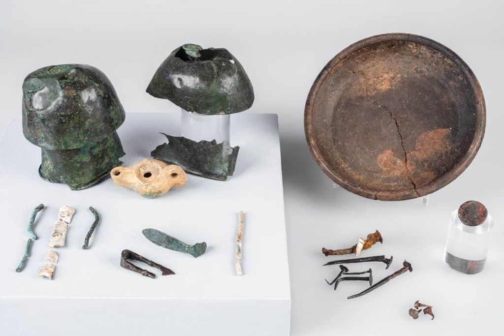Grabinventar einer römischen Ärztin