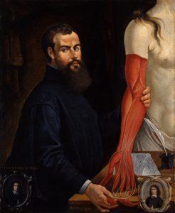 Pierre Poncet II: Bildnis des Anatomen Andreas Vesal