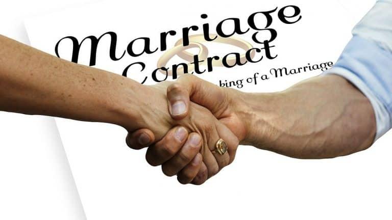 Ehevertrag ja, aber nicht vor der Hochzeit