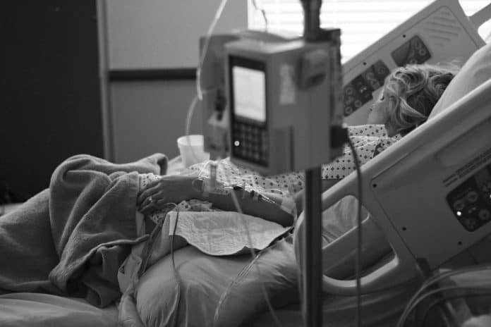 Arzt Krankenhausbett Lieferung Arbeit Medizin