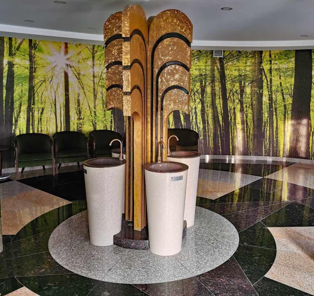 Mineralwasser Quelle (Litauen Spa Hotel)