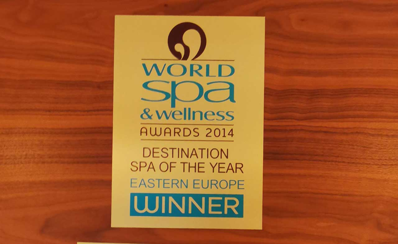 Gewinner des World Spa und Wellness Awards - Vilnius Spa (Litauen Spa Hotel)