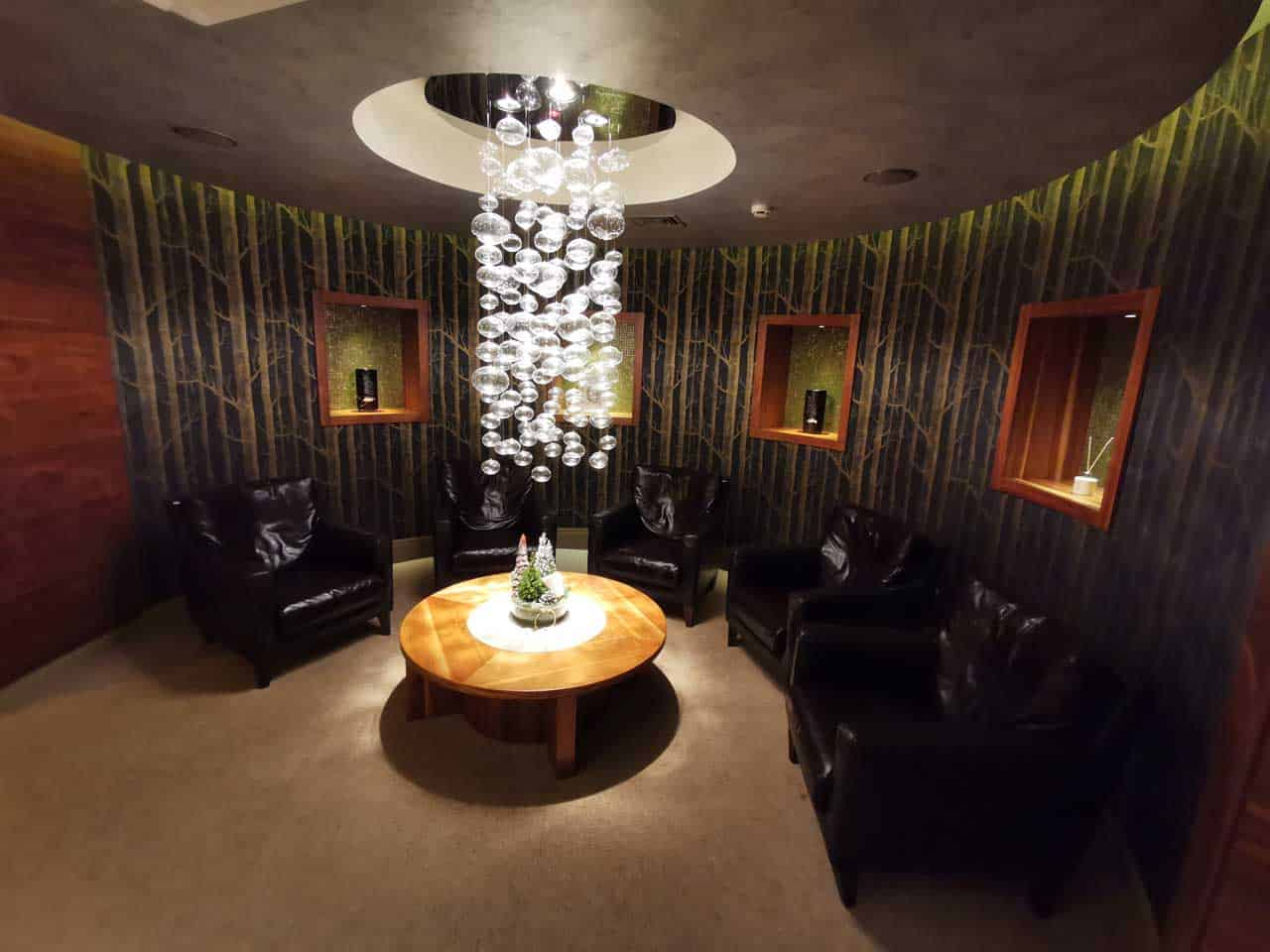 Wartebereich Spa Vilnius (Litauen Spa Hotel)
