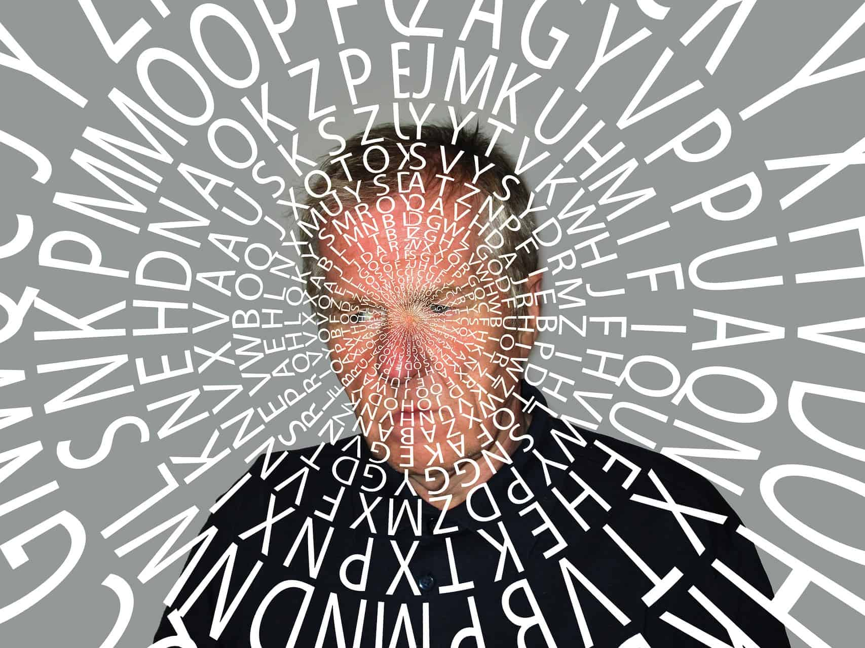 alzheimer demenz person mann wörter