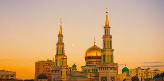 moskau moschee-kathedrale mira ramadan himmel