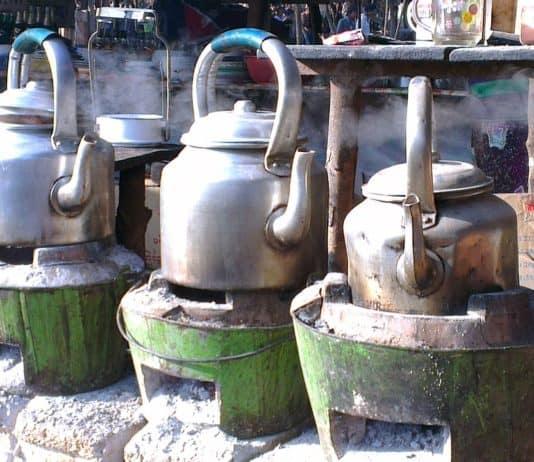 myanmar wasserkocher öfen metall alter teekanne