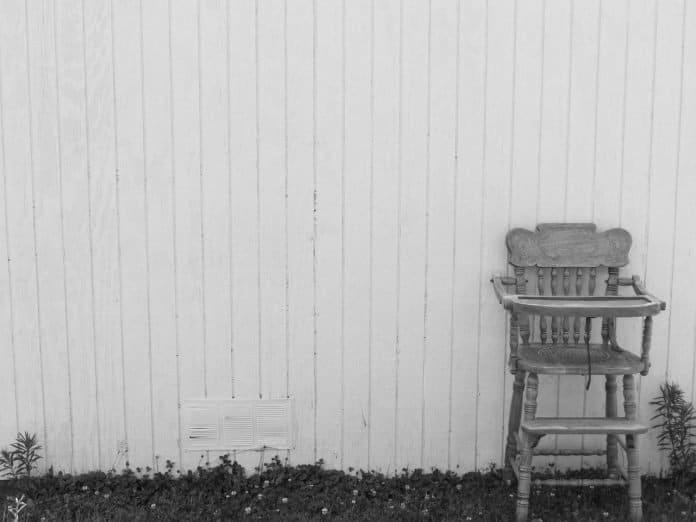 Hochstuhl Jahrgang Antik Holz Home Möbel Alte