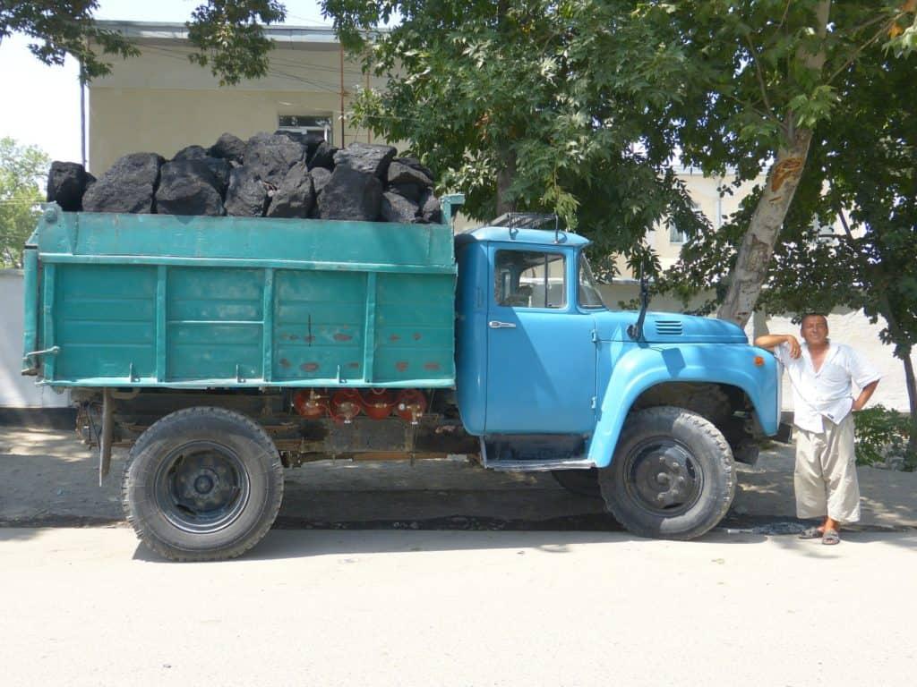 Kohletransport per LKW