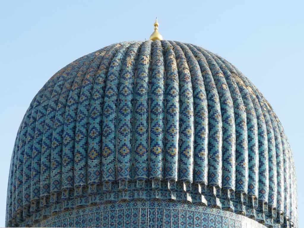 Kuppel in Samarkand Usbekistan