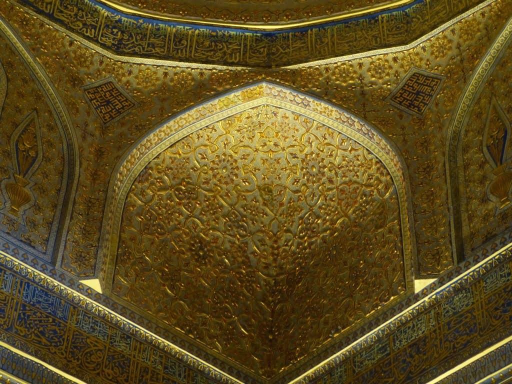Historisches Samarkand in Ubekistan