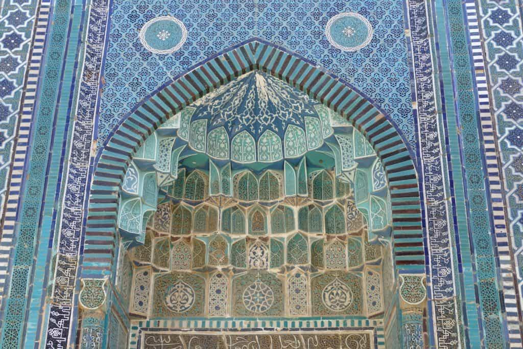 Moschee in Zentralasien Samarkand/Usbekistan
