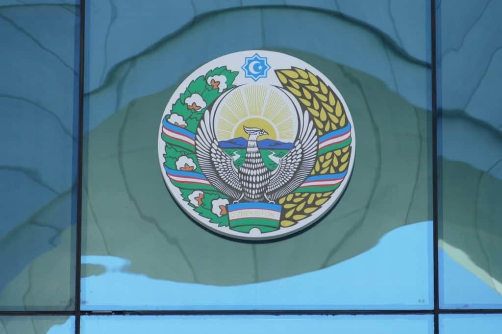 Wappen in der Hauptstadt Taschkent Usbekistan