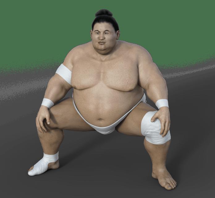 sumoringer athlet ringer sport übergewicht sumo