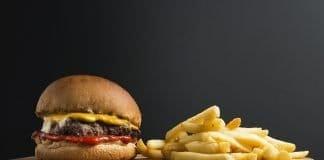 Snack Hamburger B Burger Sandwich Fastfood Crisp