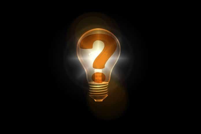 fragezeichen birne denken idee fragen antwort