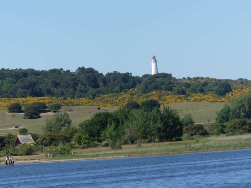 Leuchtturm bei Kloster auf Hiddensee