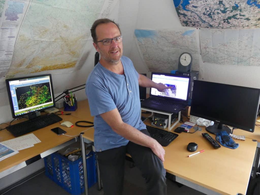 Meteorologe Stefan Kreibohm Insel Hiddensee