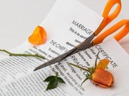 Scheidung Trennung Ehe Trennung Split Argument