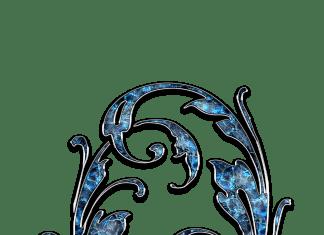Letter Letter Q Q Initials Schreiben Schriftart