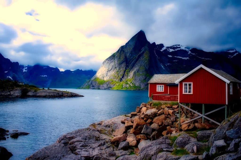Anti Depression: Luft und Licht z.B. in Norwegen