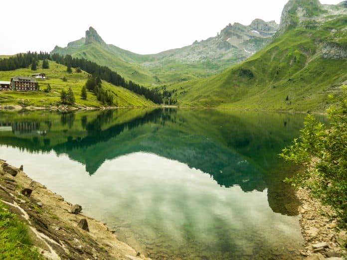 Banwaldsee Engelberg Schweiz-
