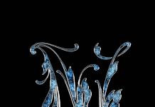 Letter Letter N N Initials Schreiben Schriftart