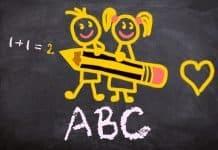 Schulanfang Abc Einschulung Erste Klasse Schule