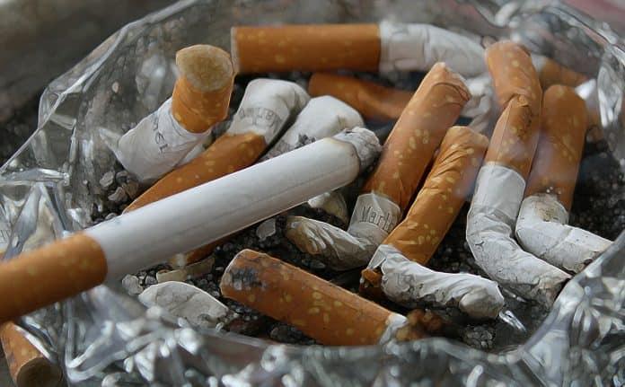 Zigaretten Asche Kippen Rauchen Aschenbecher Ekel