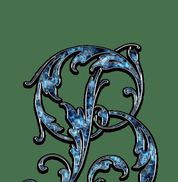 Letter Letter B B Initials Schreiben Schriftart