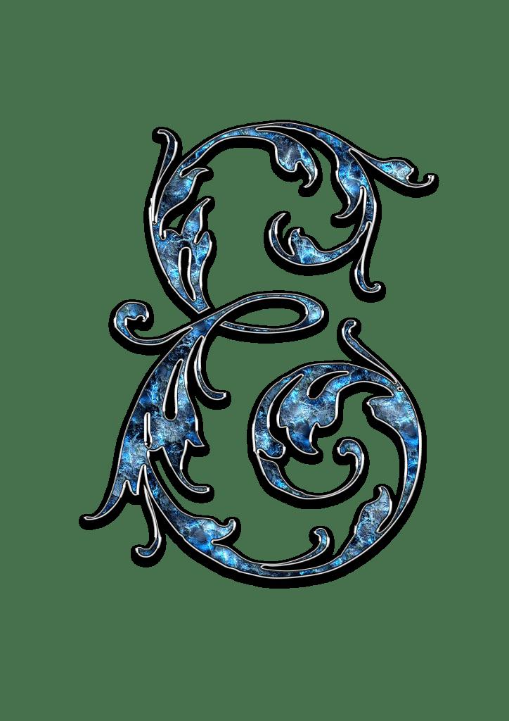 Letter Letter E E Initials Schreiben Schriftart