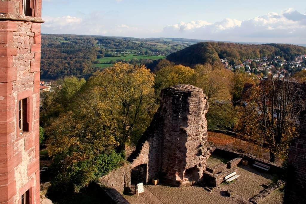 odenwald,dilsberg,landschaft,rune,blick,panorama