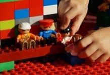 Spielen Lego Duplo Bauen Rollenspiel Männchen Kind