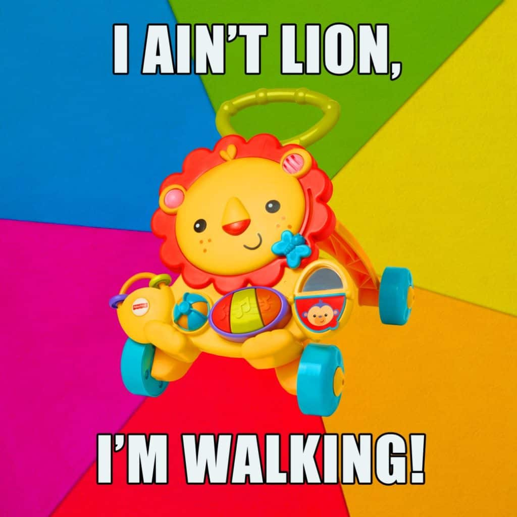 MUSICAL LION WALKER