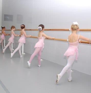 Ballett Klasse Choreografie Ballerina Maschine