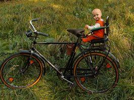 Fahrrad Alt Puppe Kindersitz