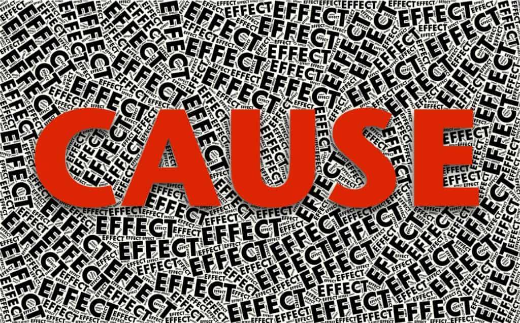 ursache, wirkung, kausalität: Ursachen für die Lese-Rechtschreib-Schwäche (LRS)
