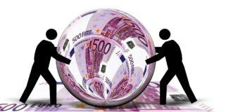 Euro Schein Währung Ball Kugel Rund Schiebe