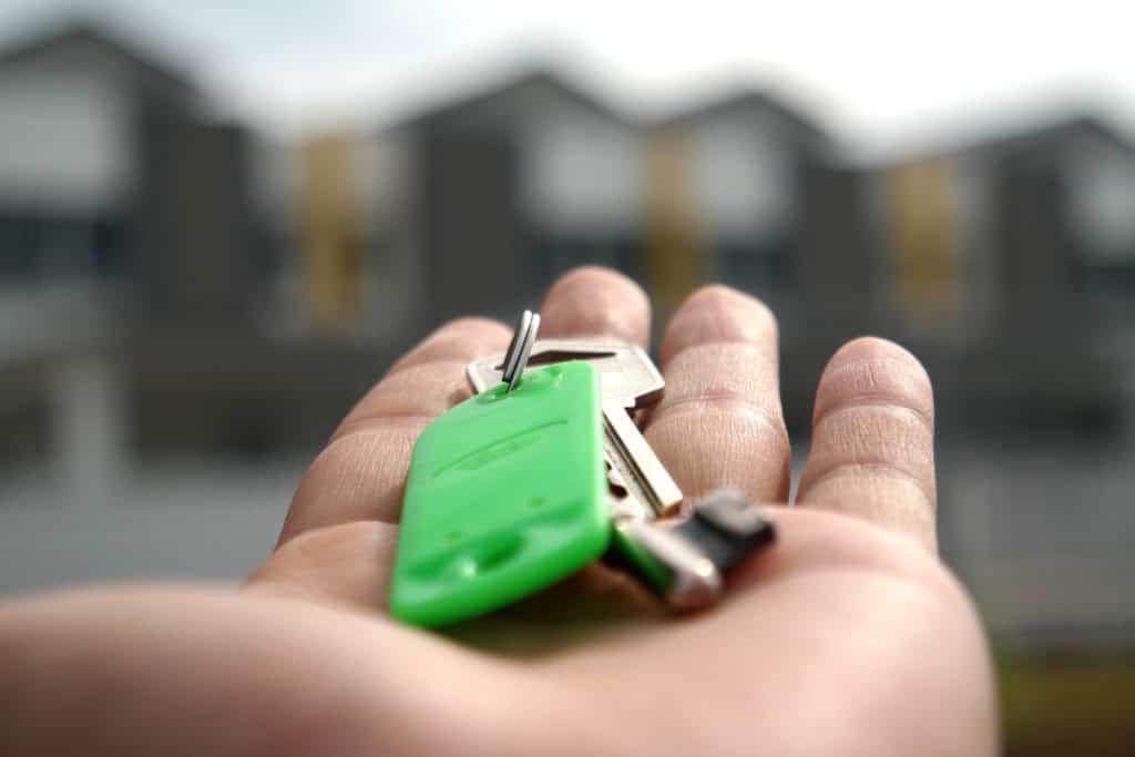 Rechte und Pflichten von Vermietern: Übergabe der Wohnung: schlüssel, home, haus