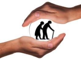 senioren, altenpflege, schutz