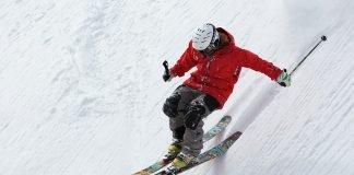 Freerider Skifahren Ski Sport Alpine Schnee