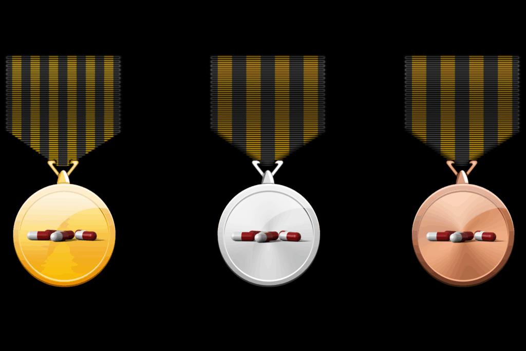 Medaillen für Kinder aber bitte ohne Doping
