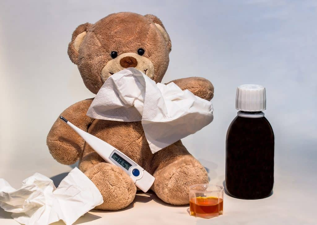 Kinderkrankengeld, erkältung, krank, fieberthermometer