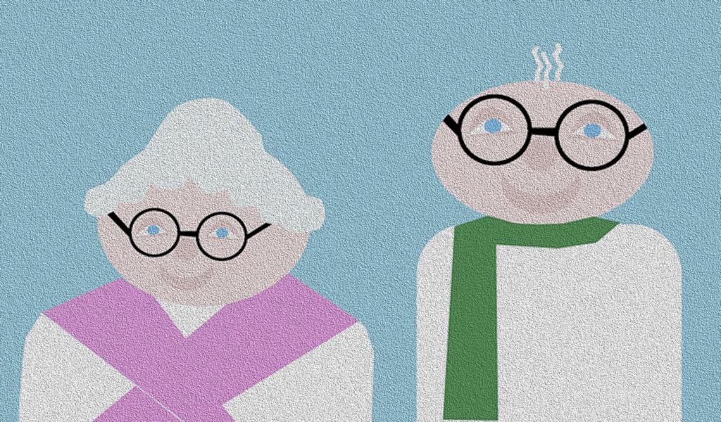 Angehörige pflegen - Pflege im Heim, oma, opa, großeltern