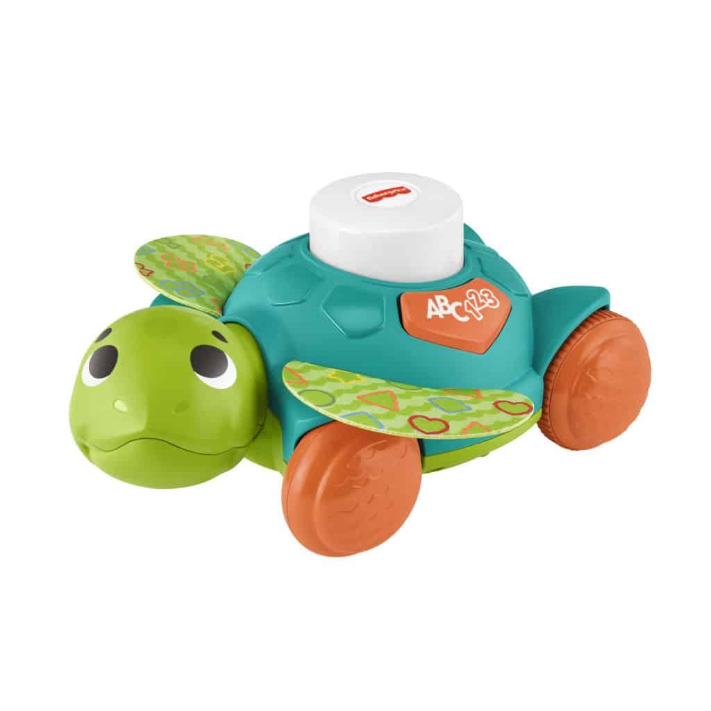 Interaktives Spielzeug: Die Fisher-Price Meeresschildkröte kann sich über Bluetooth mit ihren BlinkiLinki Spielgefährten vernetzen.