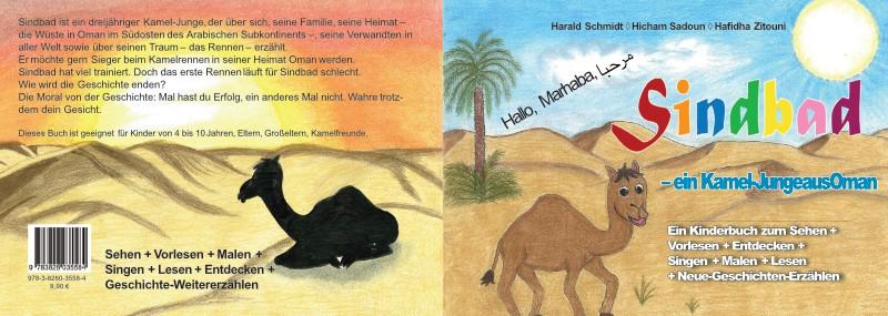 Sindbad ist ein Kinderbuch von Harald Schmidt (Autor), Hicham Sadoun und Hafiidha Zitouni (Zeichner) (Bildquelle: Autor)